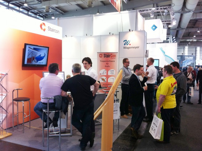Staircon at Ligna trade fair 2013