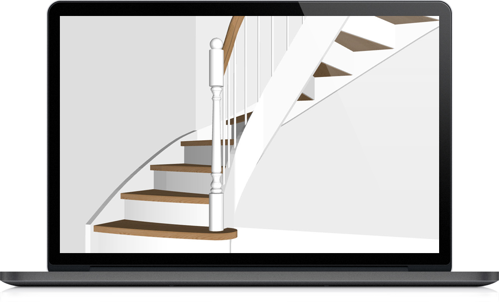 Staircon design and 3D example