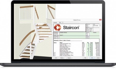 Staircon add-on - Pricing example
