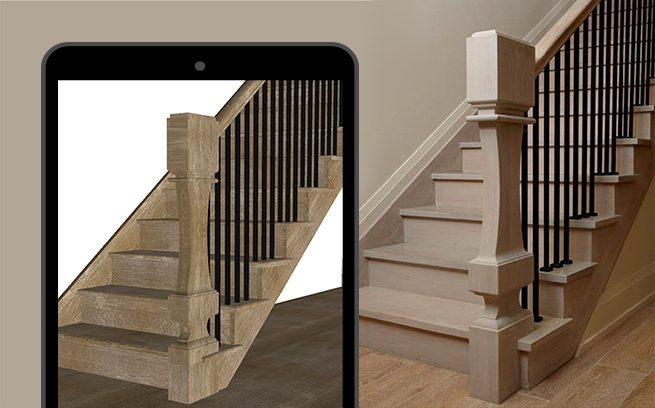 Software for design and production of stairs – Staircon
